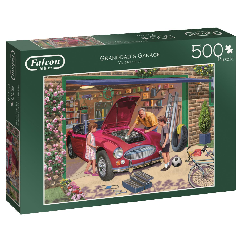 Puzzle Falcon El Garaje del Abuelo de 500 Piezas