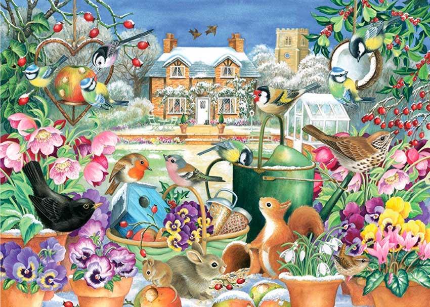 Puzzle Falcon El Jardín de Invierno de 1000 Piezas