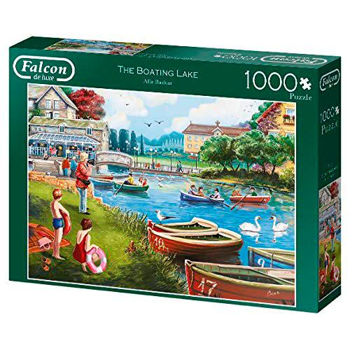 Puzzle Falcon El Lago Navegable de 1000 Piezas