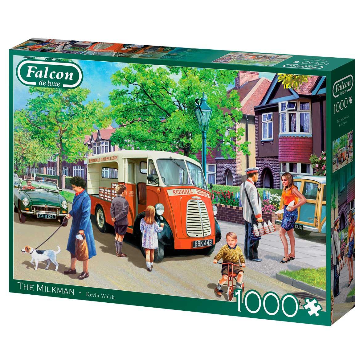 Puzzle Falcon El Lechero de 1000 Piezas