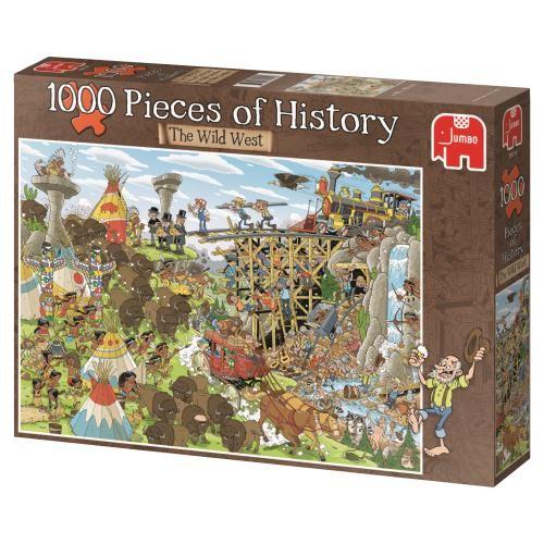 Puzzle Jumbo El Salvaje Oeste de 1000 Piezas
