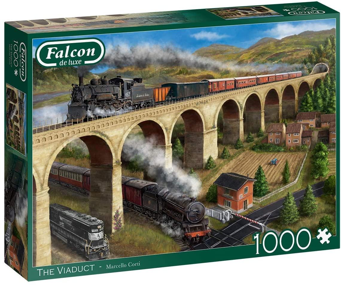 Puzzle Falcon El Viaducto de 1000 Piezas