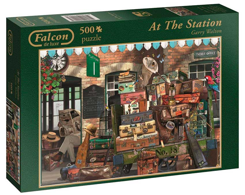 Puzzle Falcon En la Estación de 500 Piezas