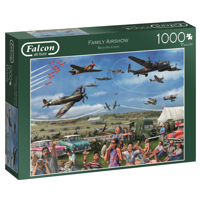 Puzzle Falcon Espectáculo Aéreo Familiar de 1000 Piezas