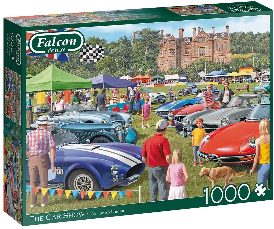 Puzzle Falcon Espectáculo de Coches de 1000 Piezas