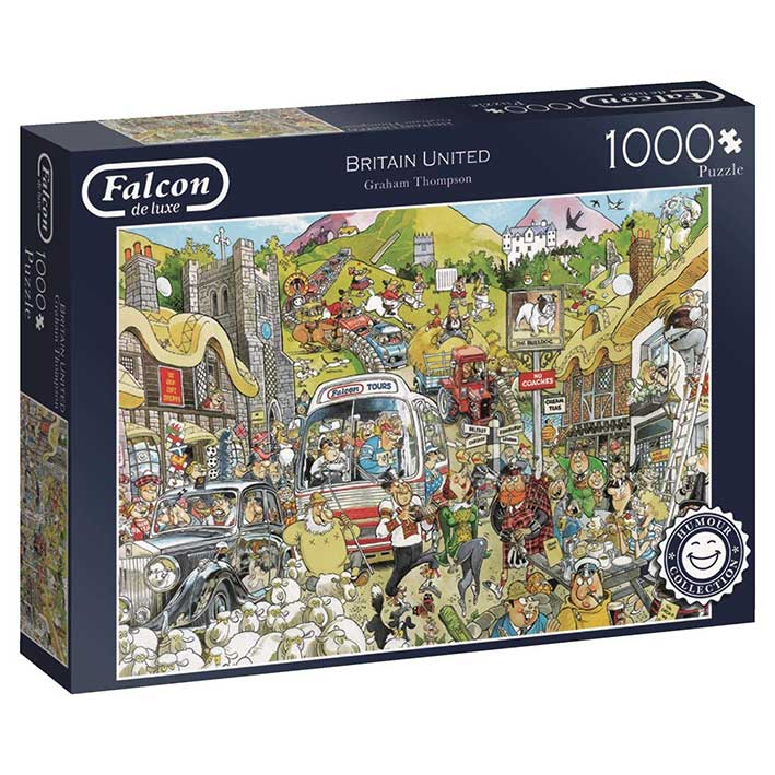 Puzzle Falcon Gran Bretaña de 1000 Piezas