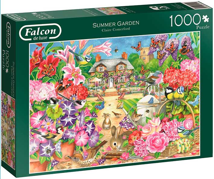 Puzzle Falcon Jardín de Verano de 1000 Piezas
