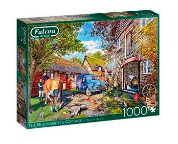 Puzzle Falcon La Cabaña del Herrero de 1000 Piezas
