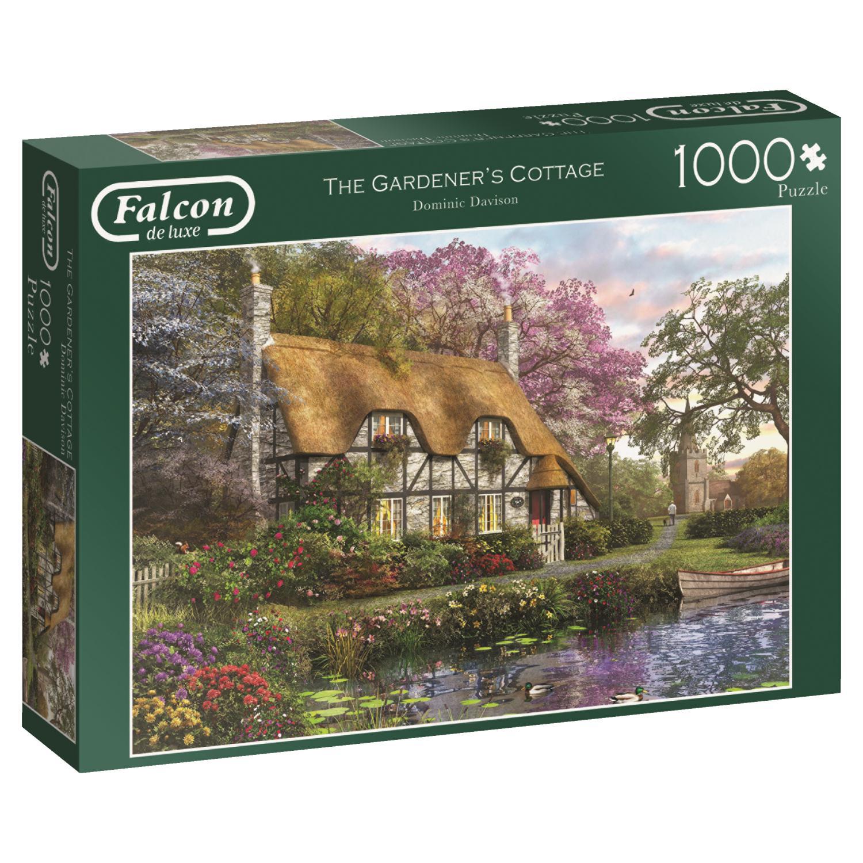 Puzzle Falcon La Cabaña del Jardinero de 1000 Piezas