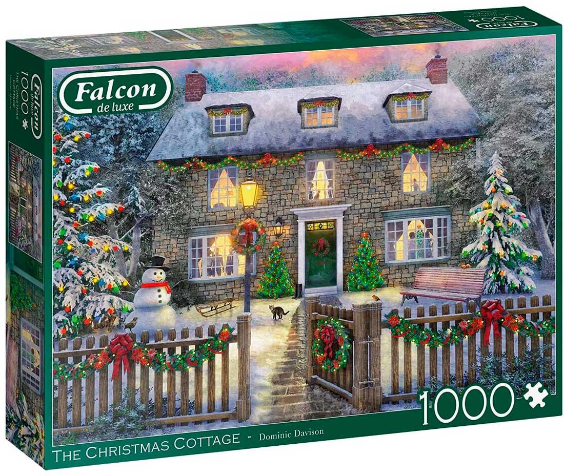 Puzzle Falcon La Casa de Campo en Navidad de 1000 Piezas