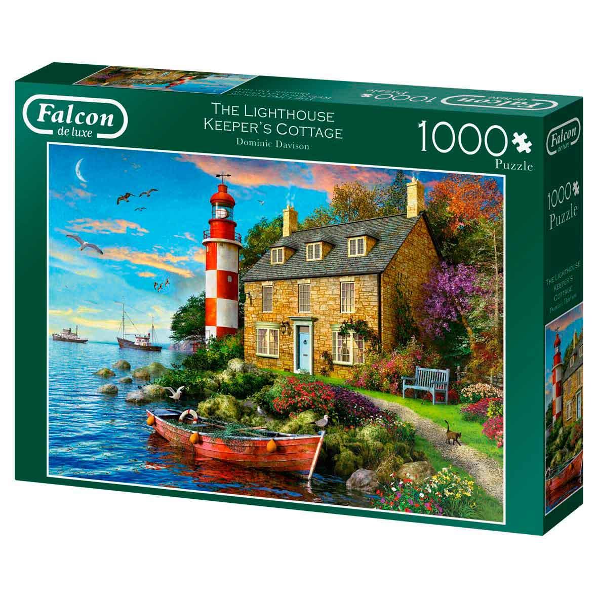 Puzzle Falcon La Casa del Farero de 1000 Piezas