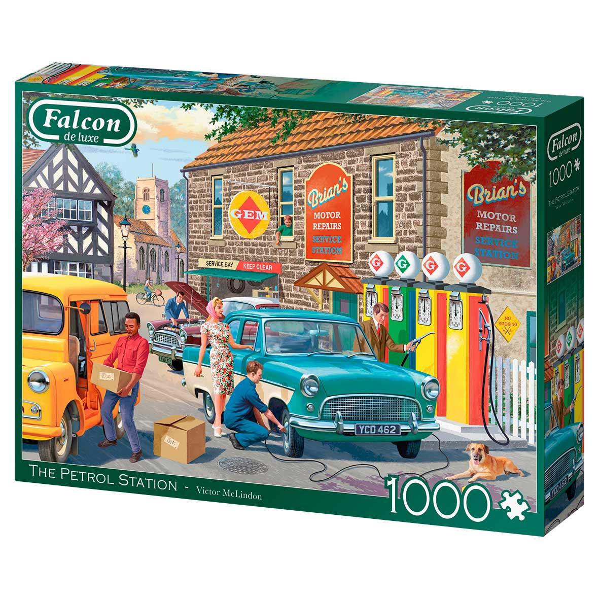 Puzzle Falcon La Estación de Servicio de 1000 Piezas
