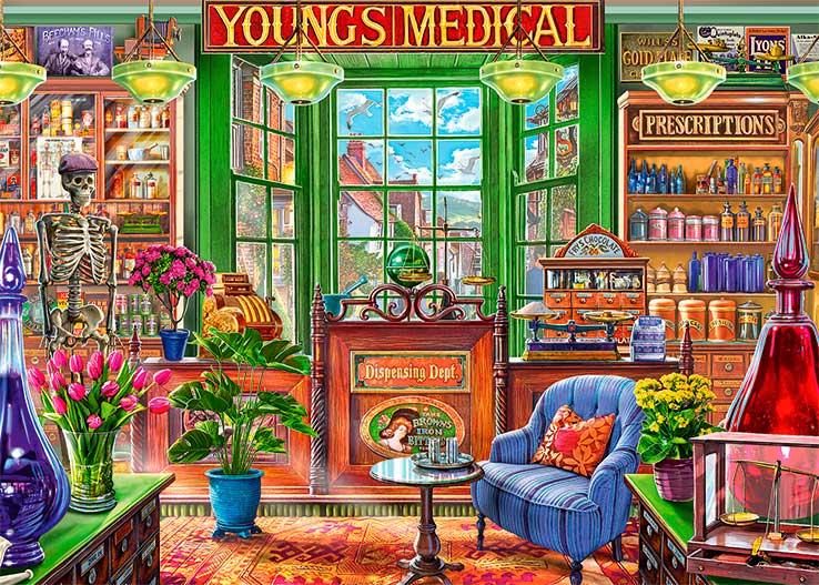 Puzzle Falcon La Farmacia de 1000 Piezas