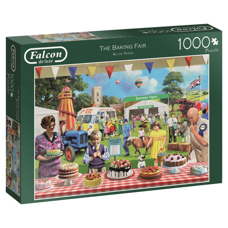 Puzzle Falcon Concurso de Tartas de 1000 Piezas
