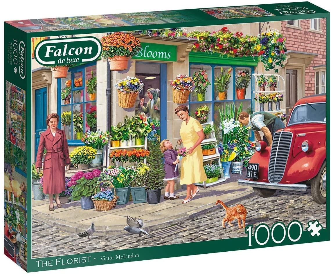 Puzzle Falcon La Floristería de 1000 Piezas