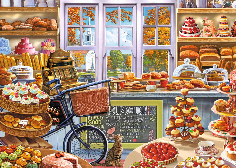 Puzzle Falcon La Panadería de Bella de 1000 Piezas