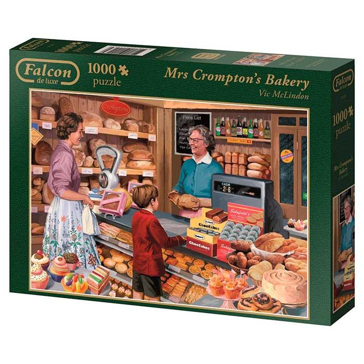 Puzzle Falcon La panadería de la Señora Crompton de 1000 Piezas