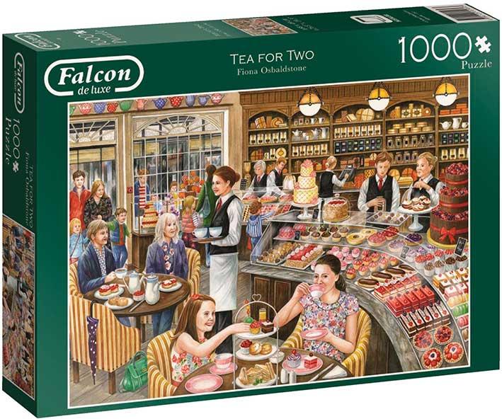 Puzzle Falcon La Pastelería de 1000 Piezas