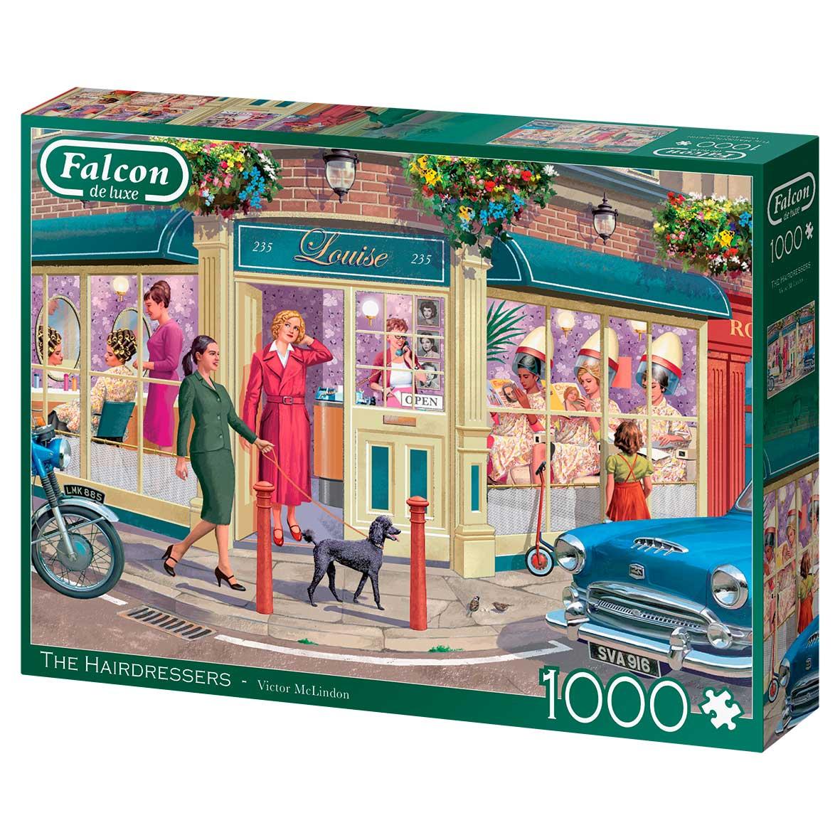 Puzzle Falcon La Peluquería de 1000 Piezas