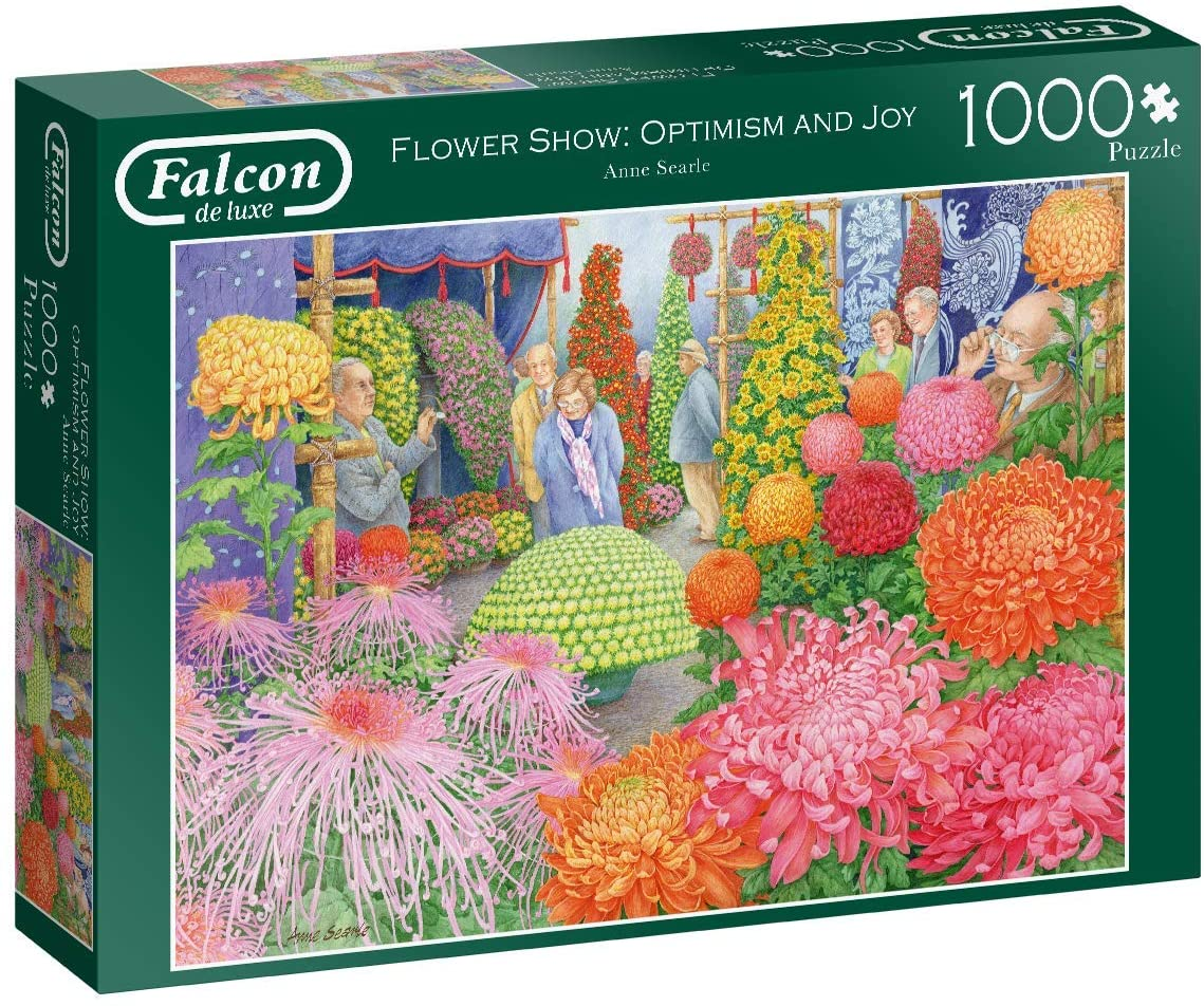 Puzzle Falcon La Tienda de Flores de 1000 Piezas