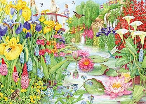 Puzzle Falcon La Tienda de Flores de Agua de 1000 Piezas