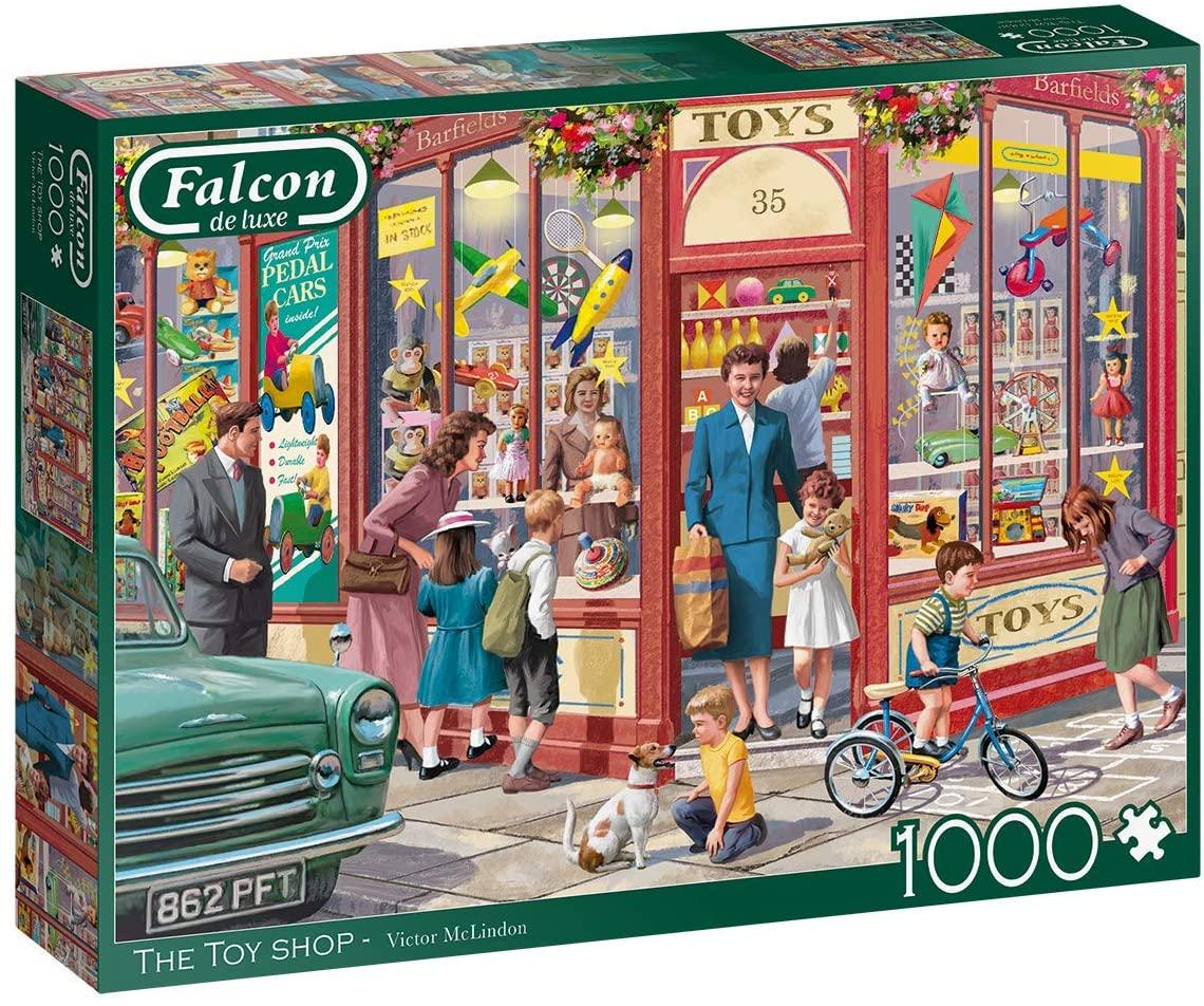 Puzzle Falcon La Tienda de Juguetes de 1000 Piezas