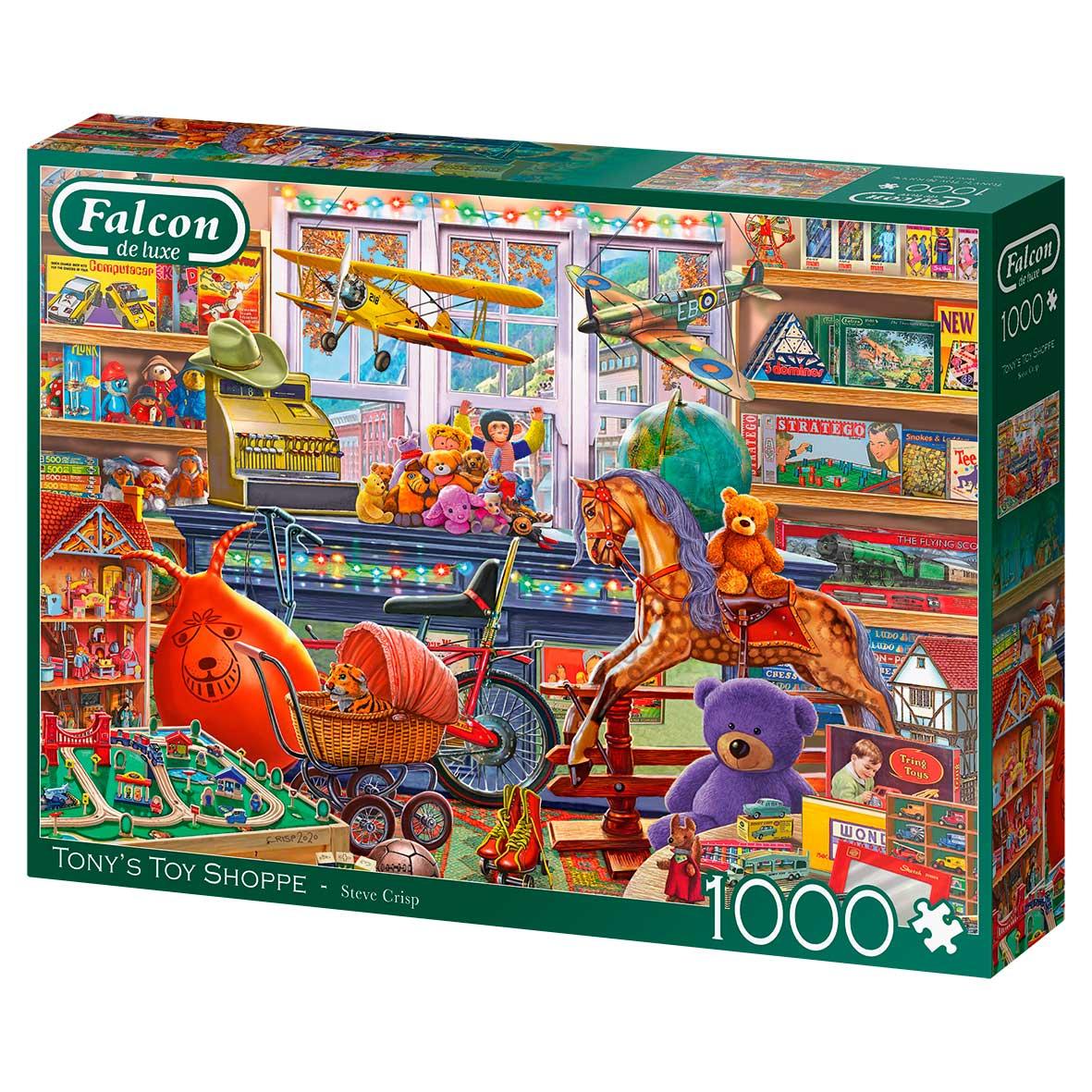 Puzzle Falcon La Tienda de Juguetes de Tony de 1000 Piezas
