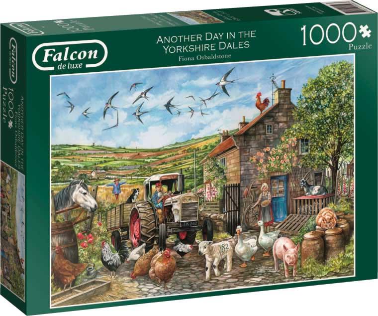 Puzzle Falcon Otro Dia en el Valle de 1000 Piezas