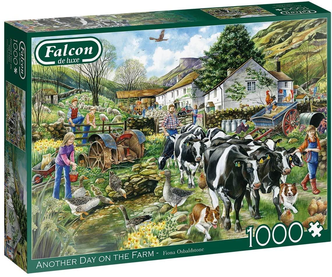 Puzzle Falcon Otro Día en la Granja de 1000 Piezas