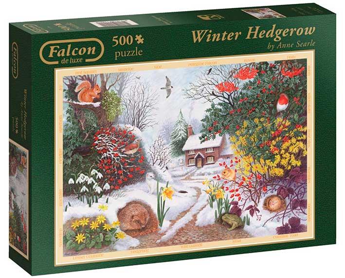 Puzzle Falcon Paisaje Invernal de 500 Piezas