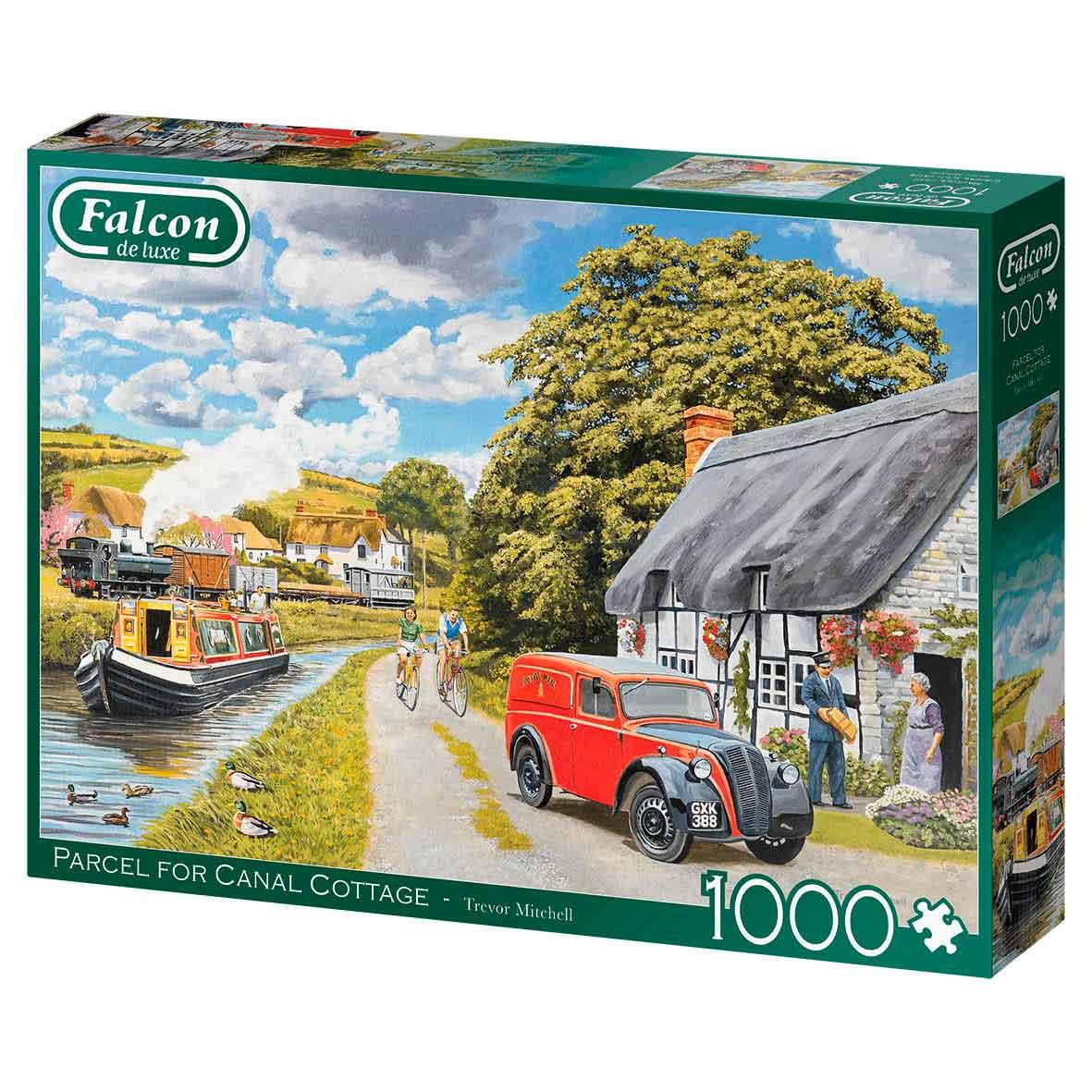 Puzzle Falcon Paquete Para La Casa del Canal de 1000 Piezas