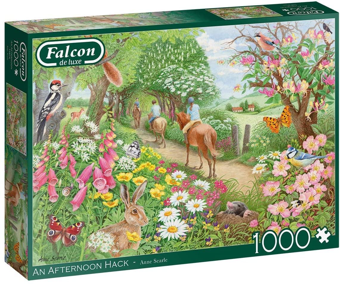 Puzzle Falcon Paseando a Caballo de 1000 Piezas