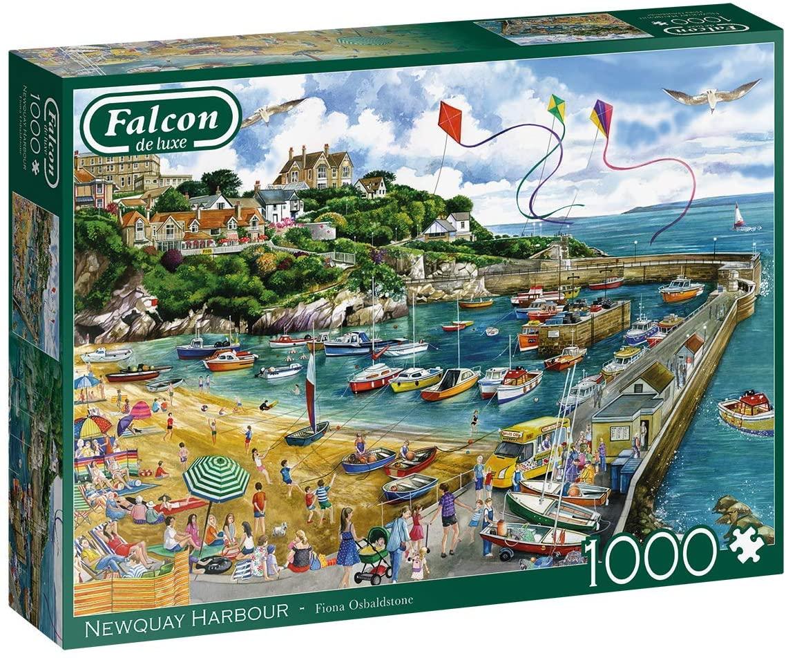 Puzzle Falcon Puerto de Newquay de 1000 Piezas