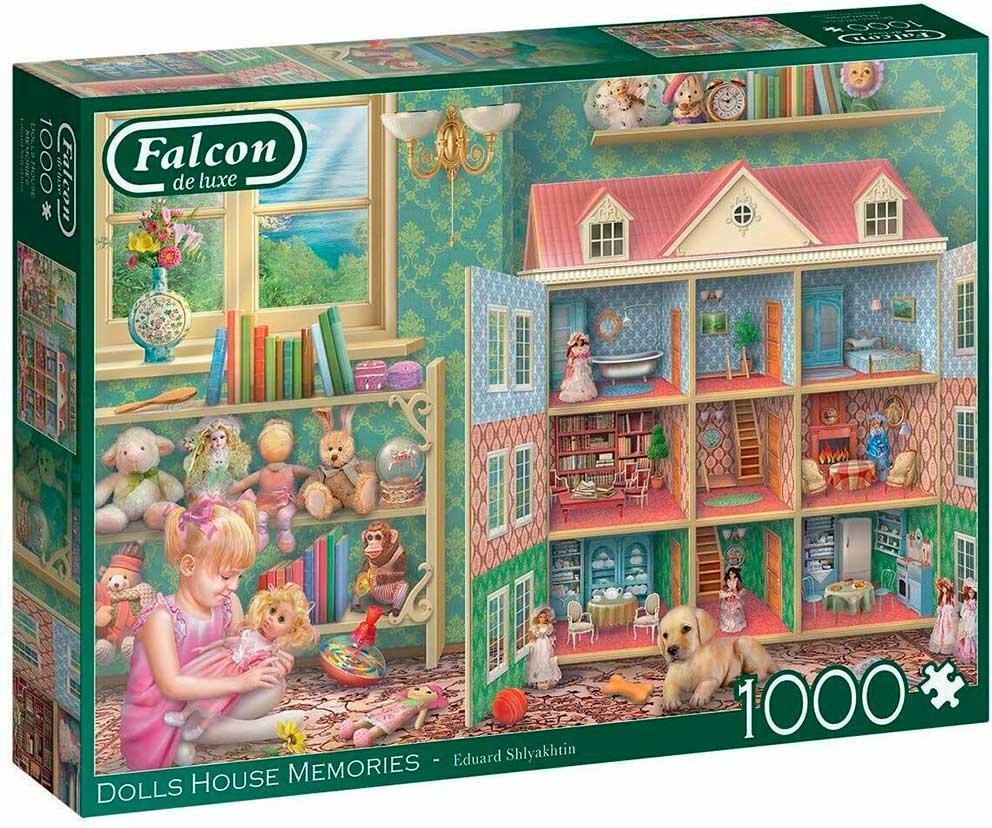 Puzzle Falcon Recuerdos de Casas de Muñecas de 1000 Piezas