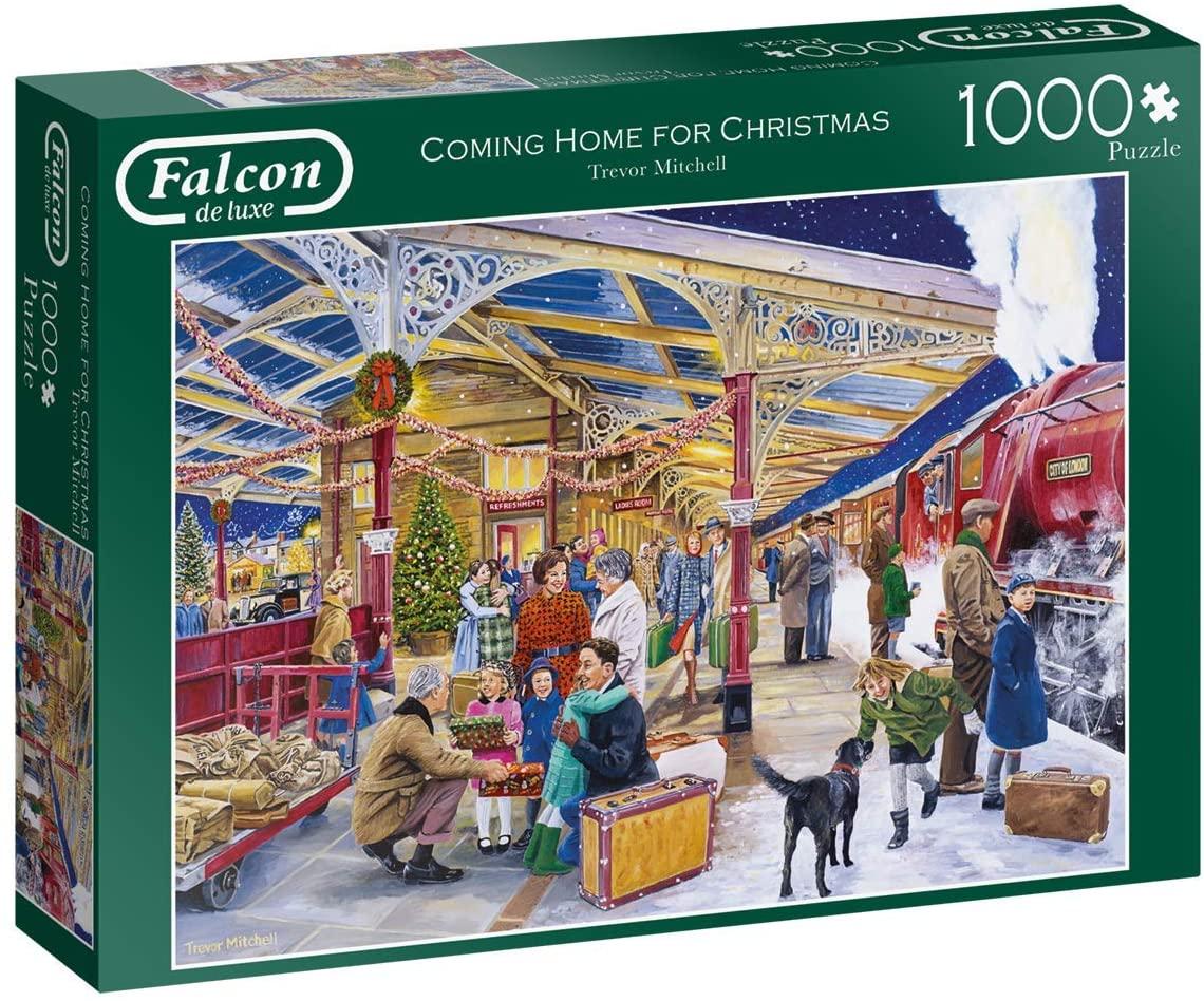 Puzzle Falcon Regreso a Casa Por Navidad de 1000 Piezas
