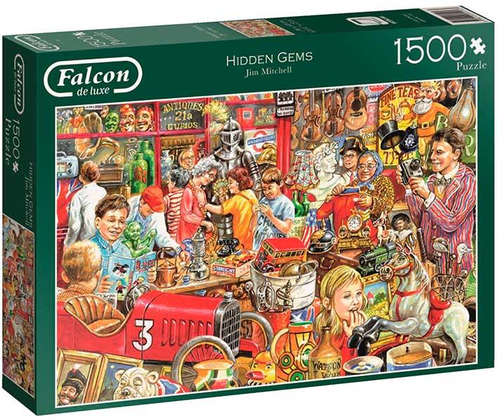 Puzzle Falcon Tienda de Antigüedades de 1500 Piezas