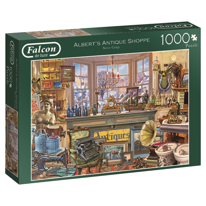 Puzzle Falcon Tienda de antigüedades de Albert de 1000 Pzs