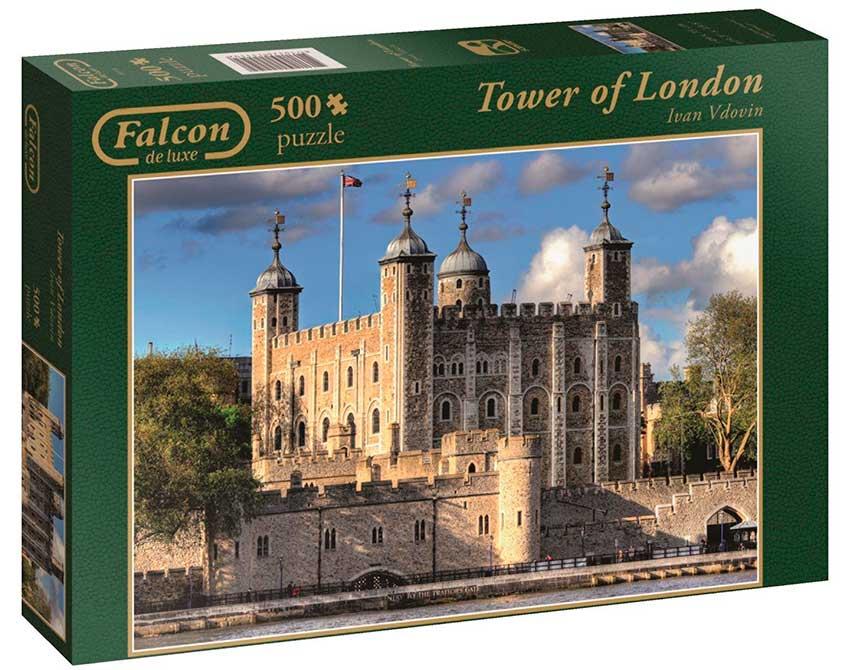 Puzzle Falcon Torre de Londres de 500 Piezas