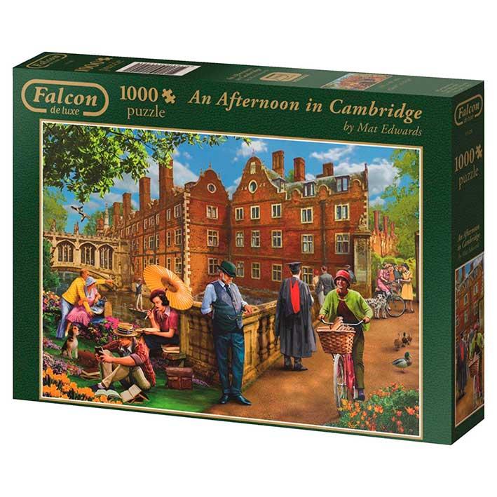 Puzzle Falcon Una Tarde en Cambridge de 1000 Piezas