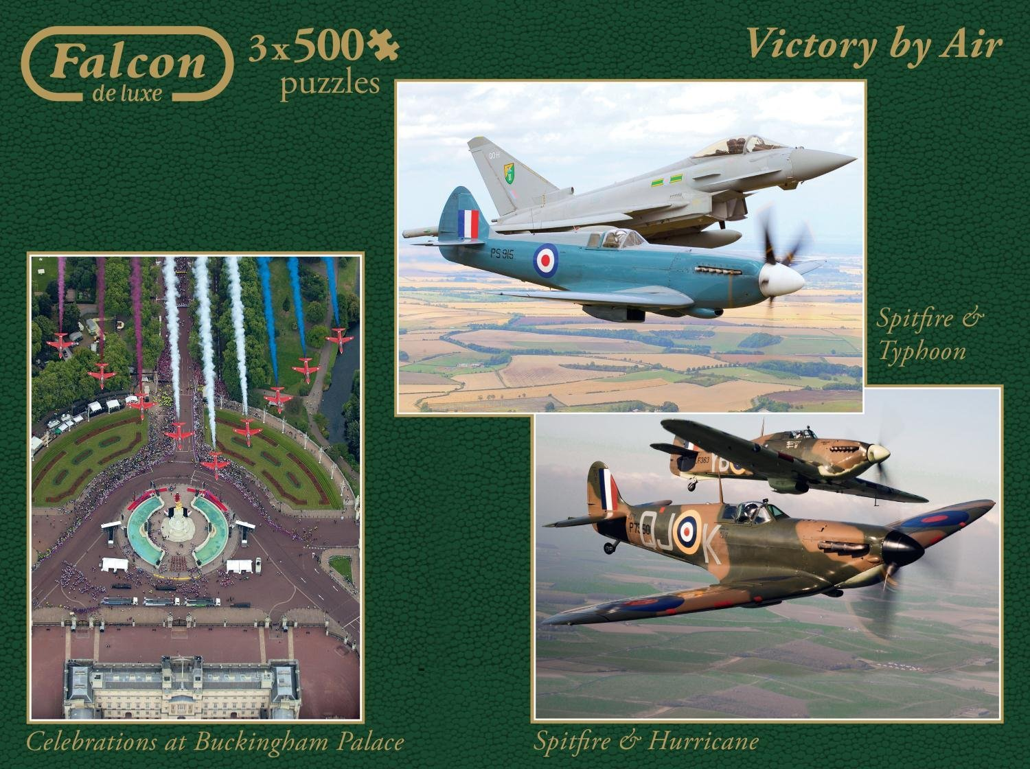 Puzzle Falcon Victory by Air 3 x 500 Piezas