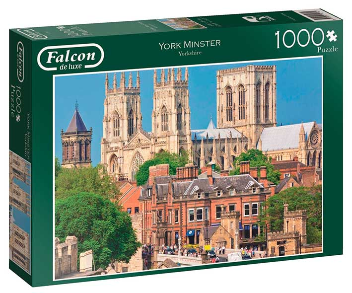 Puzzle Falcon York Minster de 1000 Piezas