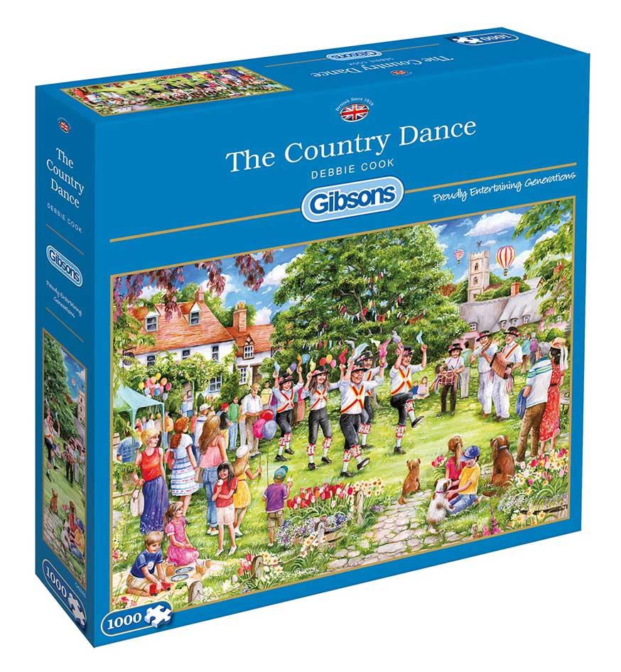 Puzzle Gibsons Baile Campestre de 1000 Piezas