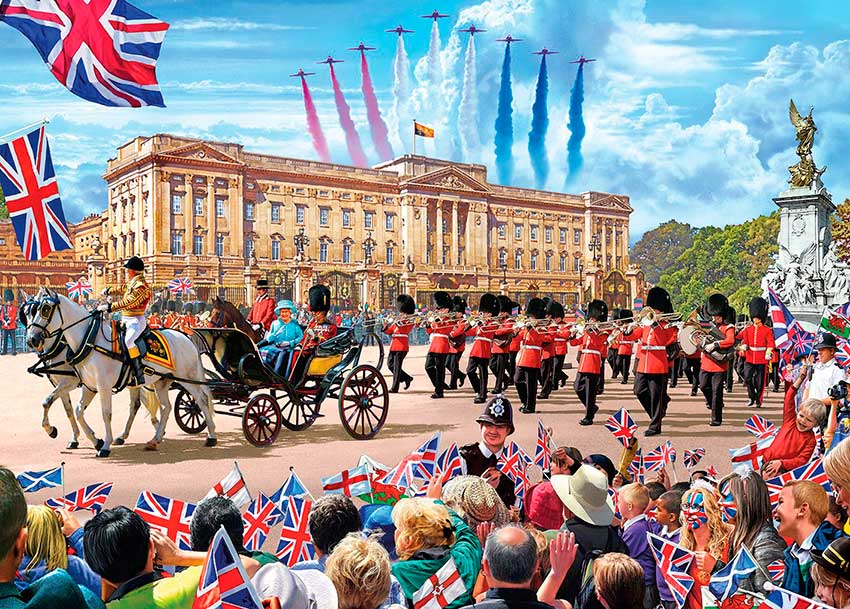 Puzzle Gibsons Buckingham Palace de 1000 Piezas