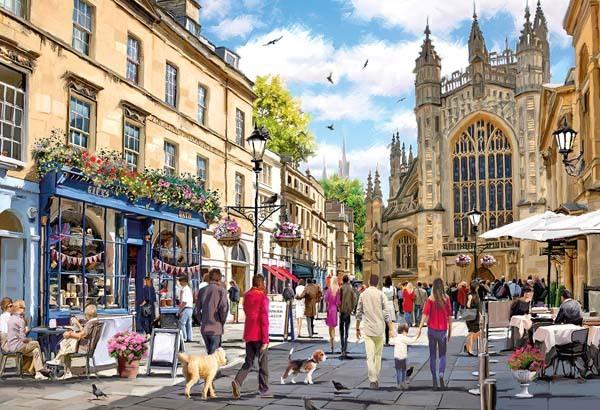 Puzzle Gibsons Ciudad de Bath, Inglaterra de 500 Piezas