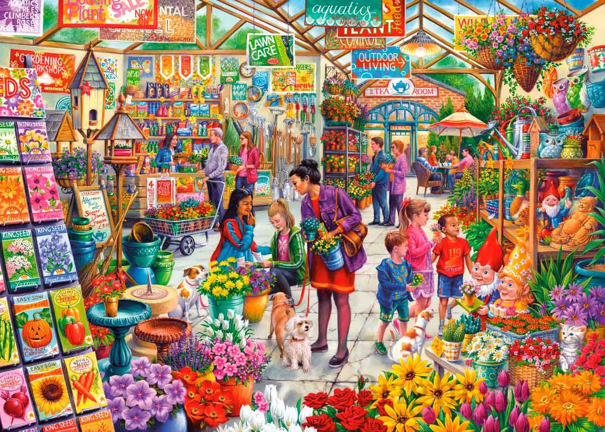 Puzzle Gibsons Delicias Para El Jardinero de 1000 Piezas