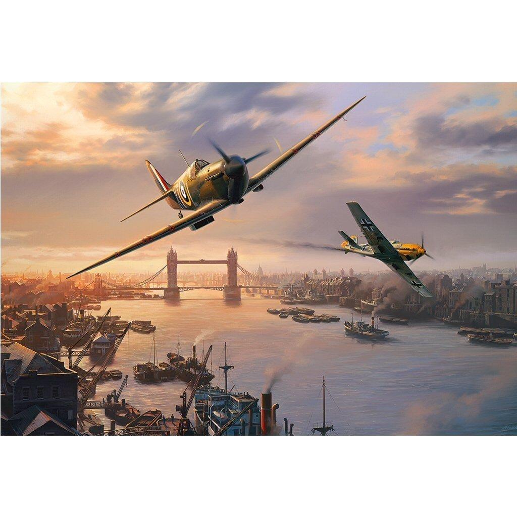 Puzzle Gibsons Escaramuza del Spitfire de 500 Piezas