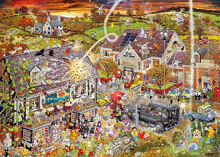 Puzzle Gibsons Amor por el Otoño  de 1000 Piezas