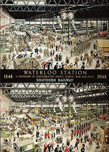 Puzzle Gibsons Estación de Watreloo 1848-1948 de 1000 Piezas