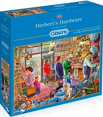 Puzzle Gibsons Herbert's Hardware  de 1000 Piezas