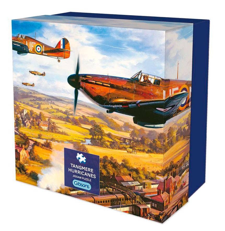 Puzzle Gibsons Huracanes de Tangmere de 500 Piezas